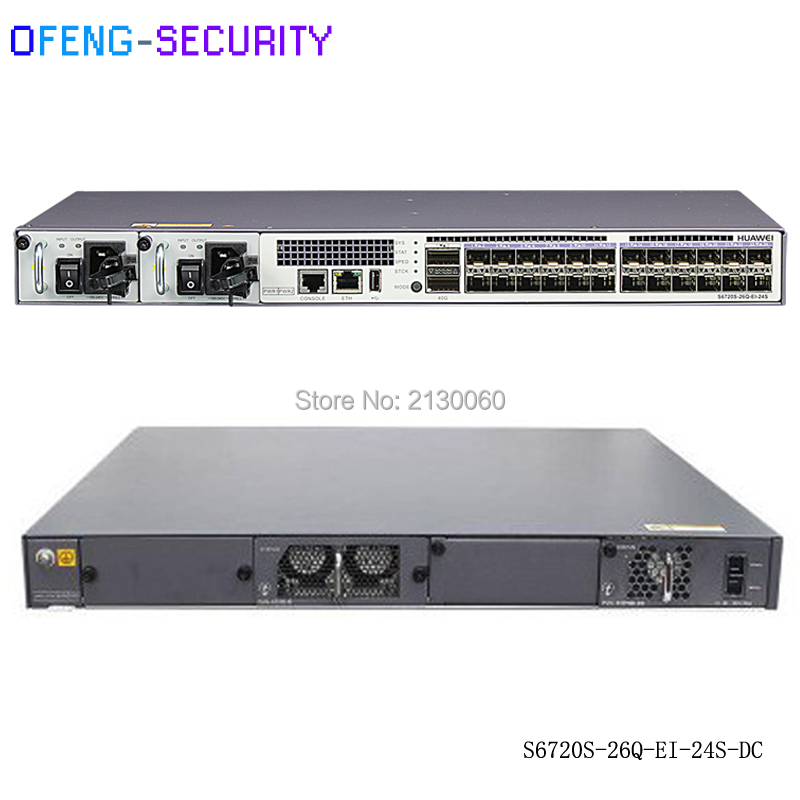 Hot Selling 100% Hua Wei Original 24 Ports Switch S6720S-26Q-EI-24S Next-generation SFP+10G Gigabit Enternet Switch