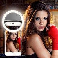 Selfie yüzük cep telefonu takma lens işık lambası Led ampuller acil kuru pil için fotoğraf kamerası iyi akıllı telefon güzellik olacak|Özel Aydınlatma|   -