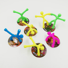 Fridge Magnet Personality Soft-Rubber Man 3pcs Toy Doll Puzzle Venting Villain Kung-Fu