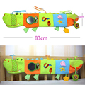 Soft Cloth Book Baby Toys 0-12 Months Activity Book Infant Cute Baby Educational Toys Crocodile Bed Toys-BYC146 PT49