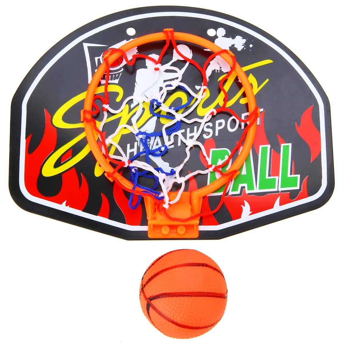 Mini Basketball Backboard Hoop Net Set Kids Basketball Sports Indoor Training Plastic Basketball Backboard With Mini Basketball