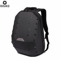 OZUKO New Original Rivet Laptop Backpack Men Personality School Bags European Style Large Capacity Travel Backpack Bagpack