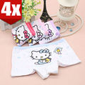 4 Pack 100% Cotton Hello Kitty Children's Underwears Girls' Panties and Toddler Training Pants baby clothing set