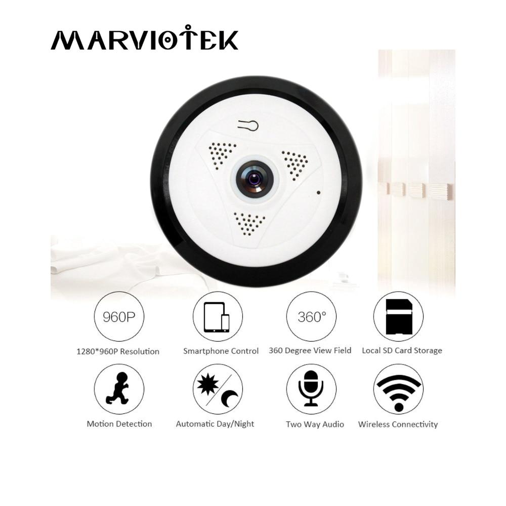 Home Security 960P HD Fisheye VR Panoramic Camera Wireless Wifi IP Camera Smart Video Surveillance Camera Wi-fi 360 degree