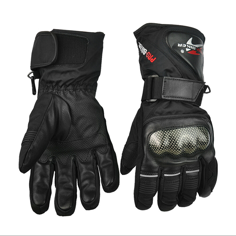Motorcycle <font><b>Gloves</b></font> Winter Warm Waterproof Windproof Protective Racing Gears Accessories Guantes Moto Luvas Alpine Motocross Stars
