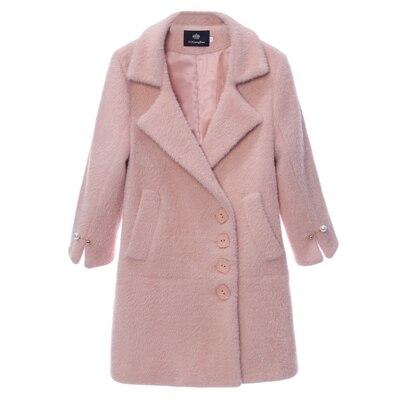 En Vêtements Faux B11 Fausse Oversize 2018 Chaud Femelle Peluche Lâche Manteau Femmes Hiver Outwear Mode Élégant Beige Nouvelle Veste Fourrure rose Épaissir q6HI68