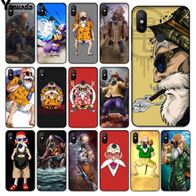 Yinuoda Sennin Muten-Roshi Master Kame TPU black Phone Case Cover Shell for Redmi 5 plus Note Xuiaomi Mi 8 8SE 6 MIX 2 2S