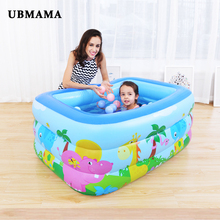 Family Swim Center Inflatable Pool large Inflatable Bubble Bottom Drain Hole kids Swimming Pool Children's water ball play pool все цены