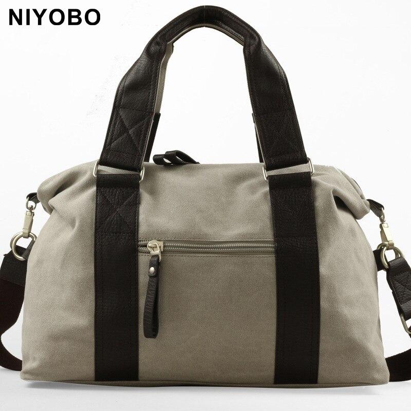 Vintage Crossbody Bag For Men Canvas Shoulder Bags Casual Men Messenger Bag Travel Handbag PT1007