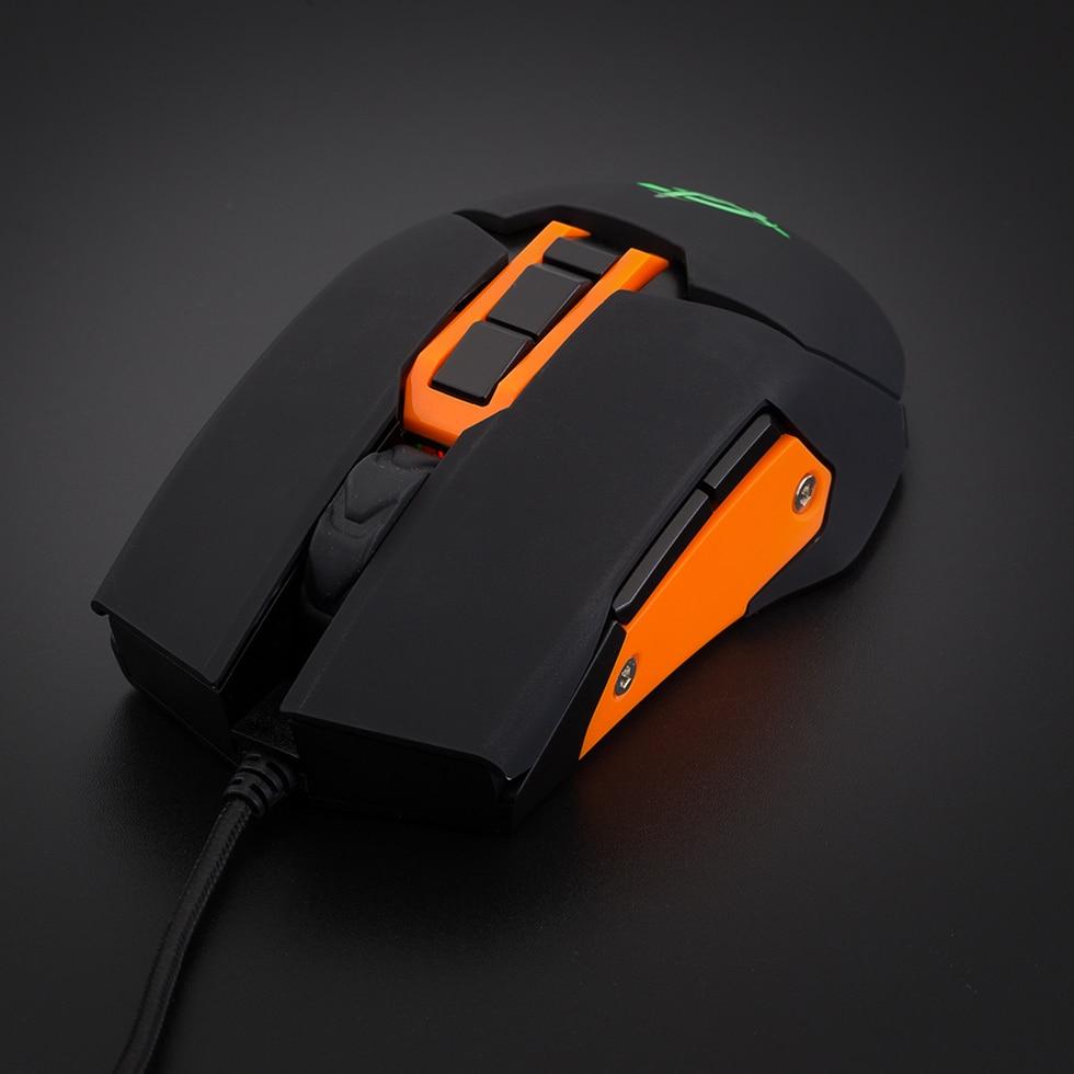 Hongsund  USB Wired Gaming Mouse 6 Button Optical RGB LED Lights Mouse Gamer 4000 DPI For PC Laptop Desktop Computer Game 1