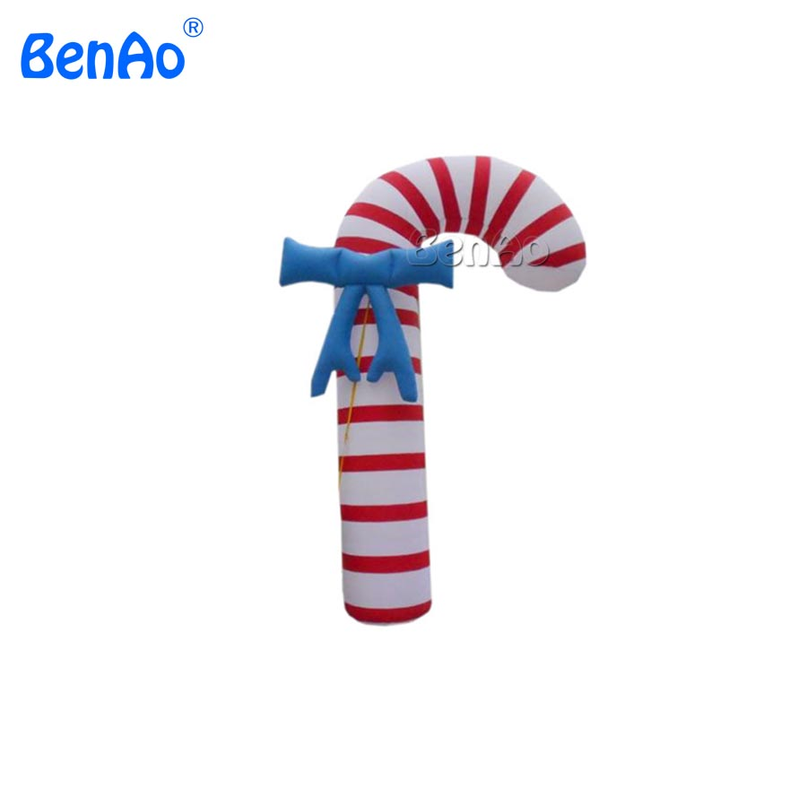 Us 598 0 X131 Xmas Inflatable Yard Party Decoration Giant Candy Cane Model For Christmas Decorations Advertising In Inflatable Bouncers From Toys