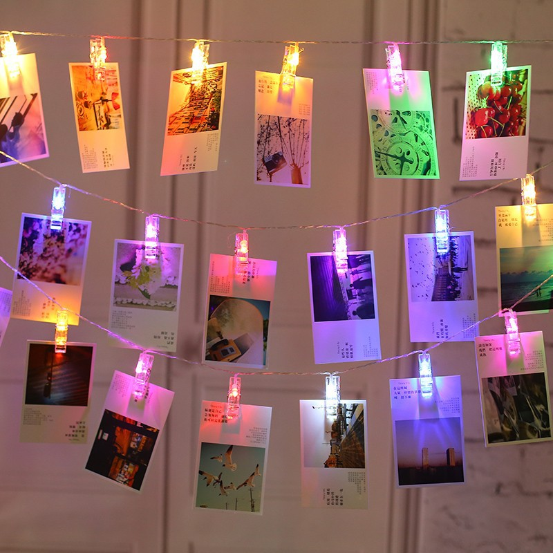 10/20/40PCS LED Photo Peg Clip Fairy String Light Battery power indoor home patry festival Wedding Hanging Picture Photo Decor10/20/40PCS LED Photo Peg Clip Fairy String Light Battery power indoor home patry festival Wedding Hanging Picture Photo Decor