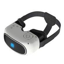 "G200 5 ""Android 5.1 Cortex A7 Quad Core 1.3กิกะเฮิร์ตซ์1 + 8กิกะไบต์3D VRความจริงเสมือนชุดหูฟังมือถือแว่นตาหมวกกันน็อคสำหรับการเล่นเกมภาพยนตร์"