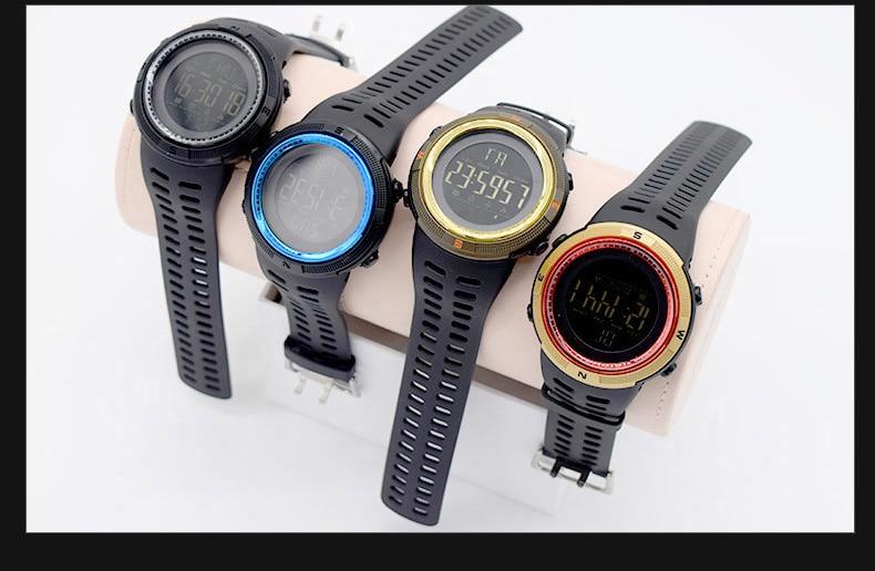 eb52b436c6cf XFCS impermeable digital de muñeca automático relojes para hombres ...
