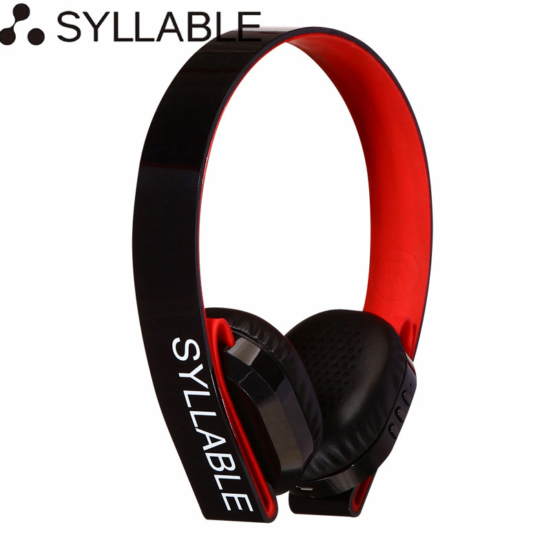 Syllable G600 Wireless Headphones Bluetooth Headphone with Mic Deep Bass Earphones Over ear Stereo Headsets for