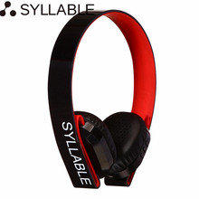 Syllable G600 Wireless Headphones Bluetooth Headphone with Mic Deep Bass Earphones Over-ear Stereo Headsets for IOS/Android