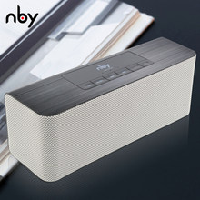 NBY-5540 Bluetooth Speaker Portable Wireless Loudspeakers Stereo Sound 10W System Music Subwoofer Column Support TF FM For Phone(China)