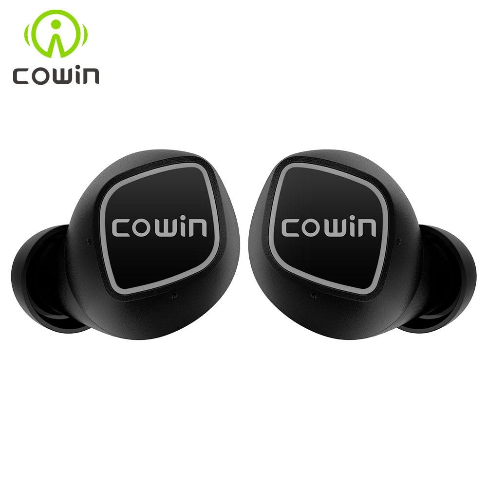 Cowin KY 02 Bluetooth 5 0 Earphones TWS True Wireless Headphones Blutooth HD Stereo Earphone Sports