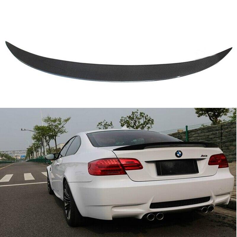 Convient pour BMW E92 série 3 becquet 2005-2012 2 portes E92 M3 Style Performance noir fibre de carbone aileron arrière