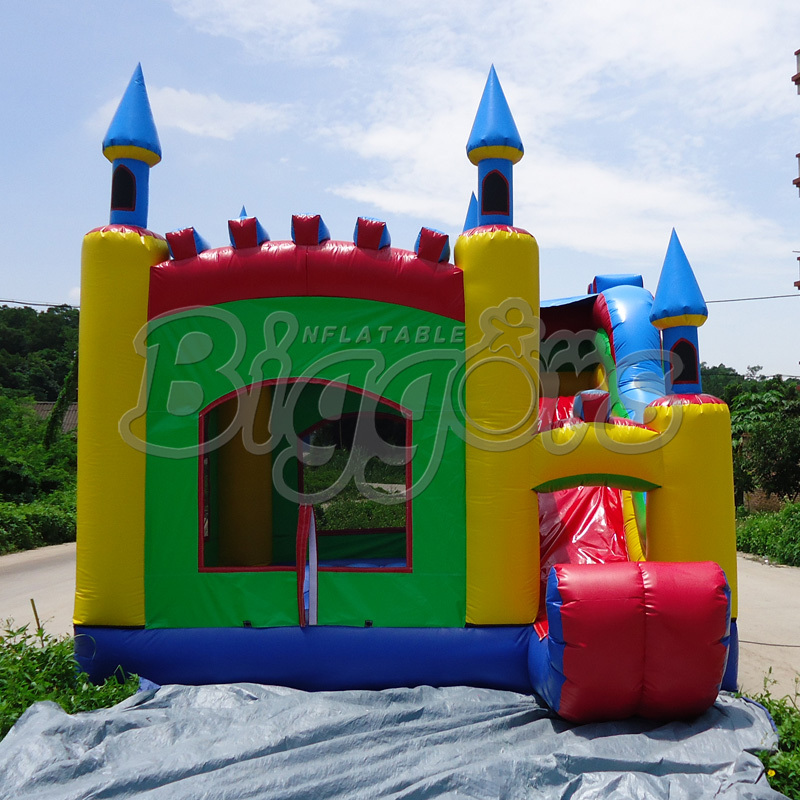FREE SHIPPING BY SEA High Quality Inflatable Bouncer Kid Toy Inflatable Jumping Slide For Party free shipping by sea kid inflatable bouncer for sale with inflatable slide