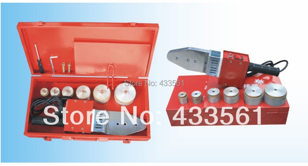 Buried PE pipeline fittings welding Machine positioner Size DN20-DN63 input power 800W & voltage ranges 220/110 plumbing tools