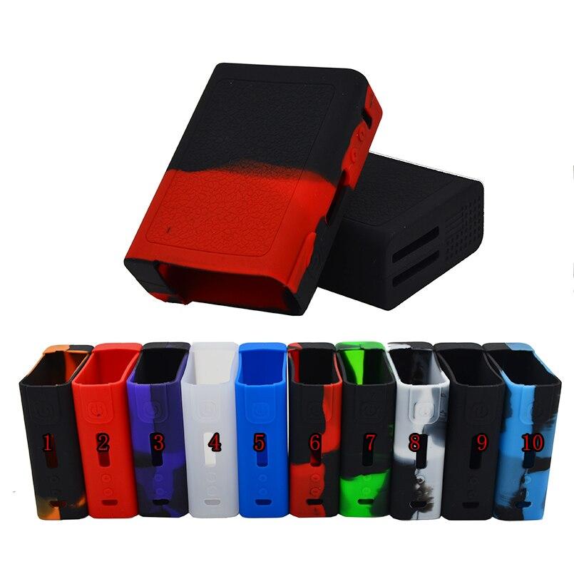 2 pcs Vgod pro150 étui en silicone/autocollant/couverture en caoutchouc ou en silicone wrap/peau/manches/enclourse pour Vgod pro 150 w MECH boîte mod