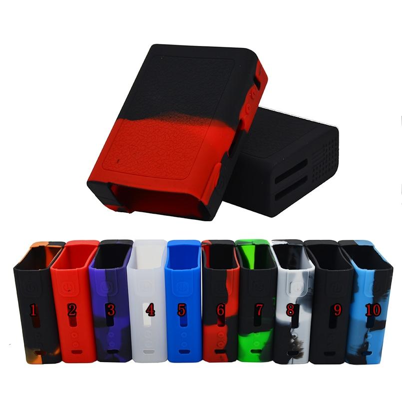 2 pz Vgod pro150 custodia in silicone/autoadesivo/copertura o gomma di silicone wrap/pelle/manicotto/enclourse per Vgod pro 150 w MECH box mod