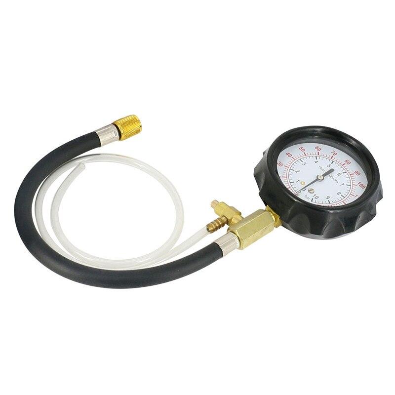 Clearance Sale0-140 PSI Fuel Injection Pump Injector Tester Pressure Gauge Gasoline