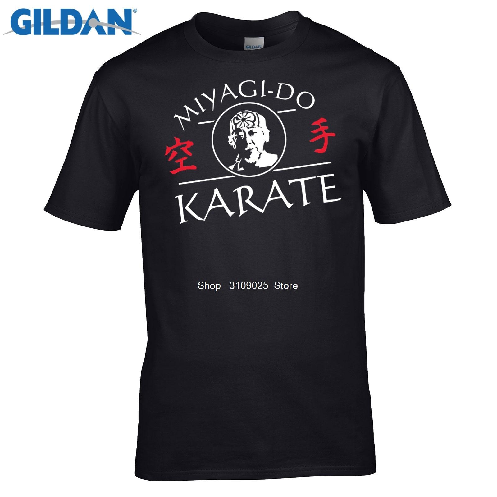 Возьмите Смешные люди Хлопковая футболка Мияги-сделать каратеmr Миягикунг-фуkarate kidразвлечениясделать футболка S