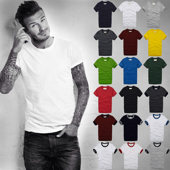 Summer t shirt men Short-Sleeved 100% Cotton tshirt Men Bottoming Shirt Solid Color Casual Clothes Male Tops & Tees male t shirt puma 57499701 sports and entertainment for men sport clothes