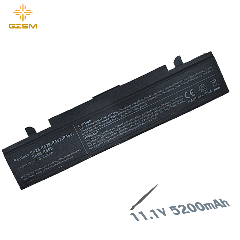 GZSM Laptop Battery R428 For SAMSUNG AA-PB9NC6B Battery For Laptop R429 R430 R467 R468 R528 R560 AA-PB9NC6W AA-PB9MC6W Battery