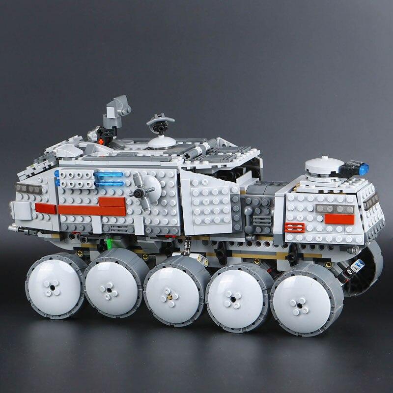 Star Wars Clone Turbo Tank 75151 Star Wars 933 Pcs Building Block Free Shipping