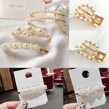 Sale 1PC Pearl Hairgrip Women Aolly Hair Clip Girlsfriend Gifts Barrettes Styling Accessories