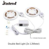 Motion Sensor Bed Led Strip Lights 1 2M Flexible LED Strips Motion Activated Night Lights Kit