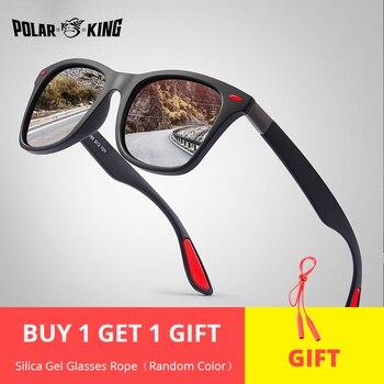POLARKING Marke männer Mode Polarisierte Sonnenbrille Für Fahr Kunststoff UV Schutz Brillen Designer Reise Sonnenbrille
