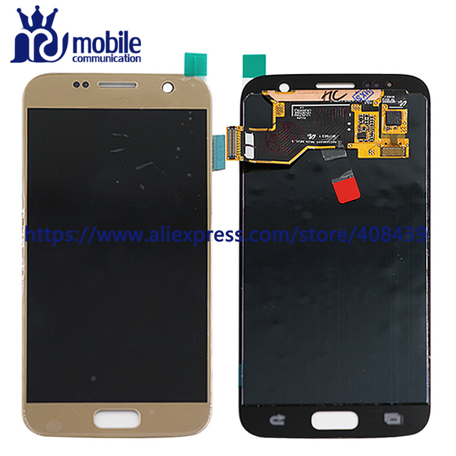 New For Samsung S7 LCD Display with Touch Screen Digitizer Assembly Replacement mobile phone lcd SM-G930A SM-G930F G930V G930T