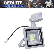 30 Watt 1800LM Led-strahler PIR Sicherheit Bewegungsmelder Im Freien Wasserdichte Flutlicht Scheinwerfer Licht Warmes Weiß 220 V