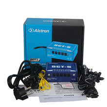 Alctron DCT-5 5-channel 9 volt DC output effect power supply box multi-channel isolated protection