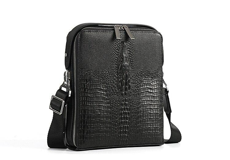 958ac28b0d2 High Quality Genuine Leather Crossbody Bag Men Trendy Men Bag Messenger Bag  Soft Leather Business Bag