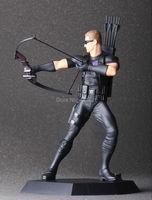 Hot Sale Classic Super Hero Marvel Avenger Hawkeye Clinton Francis Barton Bow Arrow Battle 22CM Figure