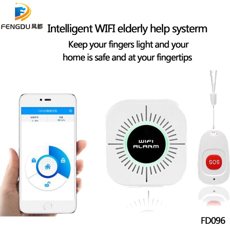 2019 New Home Security Alarm DIY Kit Emergency Help Elderly Help Patient Emergency Calling System Caregiver Alarm For Old People