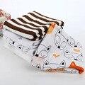 Hot Preto Branco de Musselina Cobertor, 100% Algodão Infantil Do Bebê Recém-nascido Cobertor Do Bebê Envoltório Swaddle Bebê, Bebê Receber Cobertores