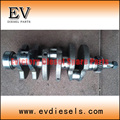 Genuine Steel type  S3L2 crankshaft  for Kobelco Mini Excavator S3L2 engine crankshaft