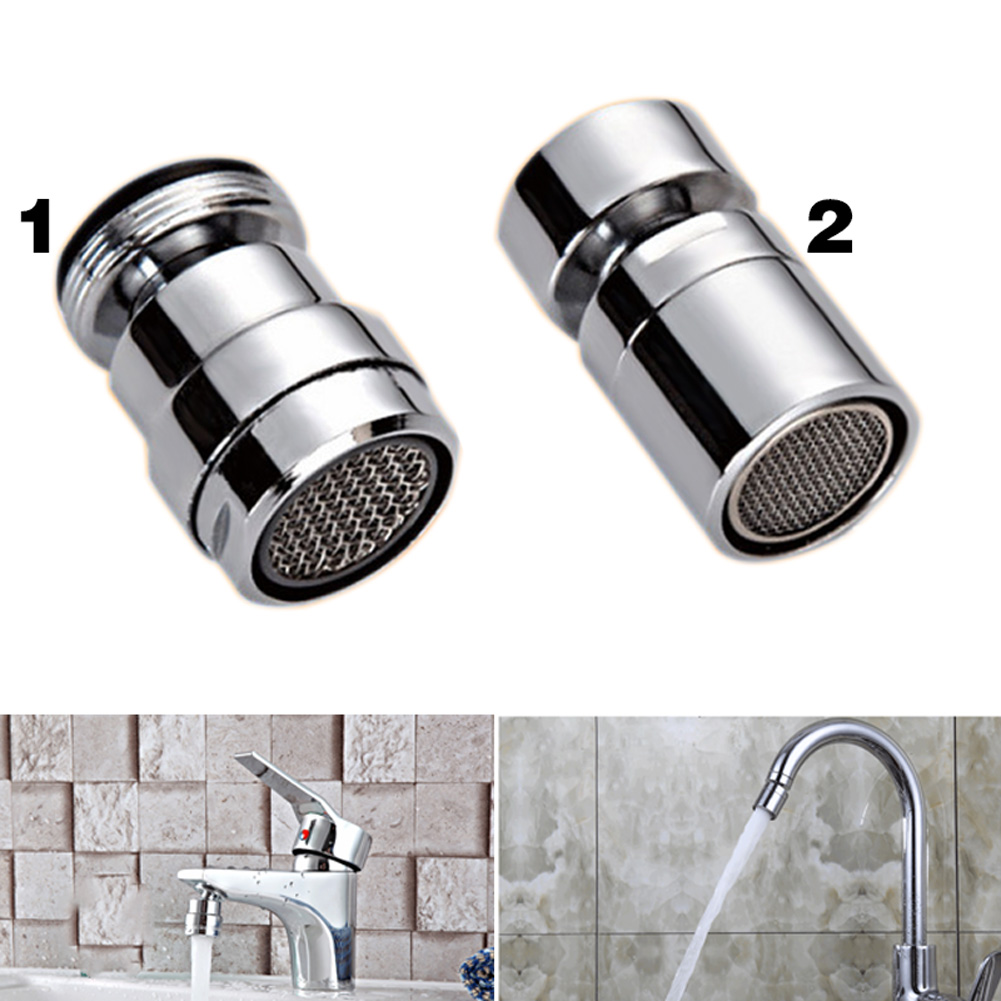 Kitchen Bathroom Aerator 360 Degree Water Saving Bidet Faucet Tap Adapter Device --M25