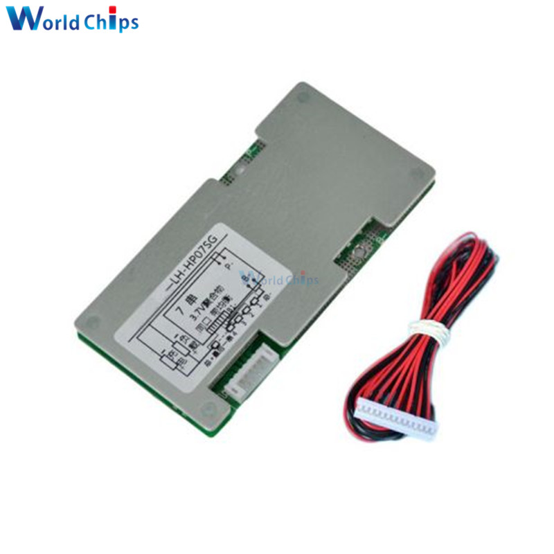 18650 Batteries Battery Protection Circuit Board For 259 V 7s Liion