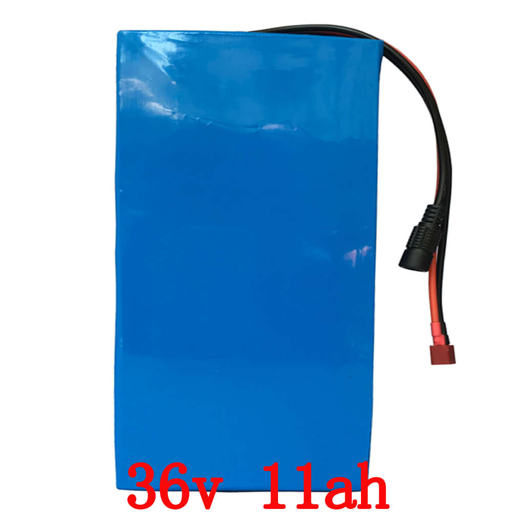 36v eBike Battery 11AH 500W Lithium Scooter Battery Pack 36v Electric Bike Battery 36v with 42V 2A Charger,BMS Free Shipping free customs taxes super power 1000w 48v li ion battery pack with 30a bms 48v 15ah lithium battery pack for panasonic cell