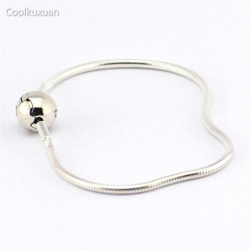 Prix pour Essence Collection Bracelets Serpent Chaîne (3 MM) 100% 925 En Argent Sterling De Mode Bijoux Pour Femmes En Gros Coolkuxuan Bijoux