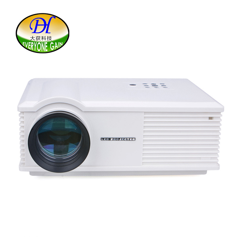 Everyone Gain PH580 HD Home Theater Projector 3200 Lumens Contrast Portable LED Projector with EU US