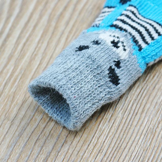 Anti-Slip Knit Socks Shoes Chihuahua
