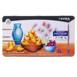 LYRA 72 Farben Rembrandt Polycolor Farbe Bleistift Set Öl Zeichnung Bleistifte Buntstifte Lapices De Colores Farbige Bleistifte Kunst Liefert
